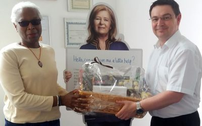 Winner of Bromley Dementia Awareness Week 2017 Hamper