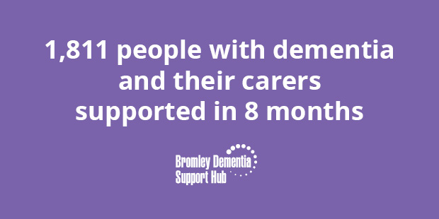 How the Dementia Hub Support Husband and Wife in Bromley