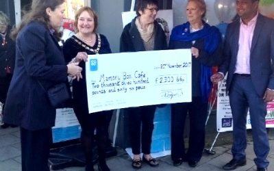 Co-op Cash Helps West Wickham's Memory Box Dementia Cafe