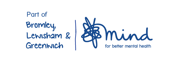 'Part of Bromley & Lewisham Mind' logo