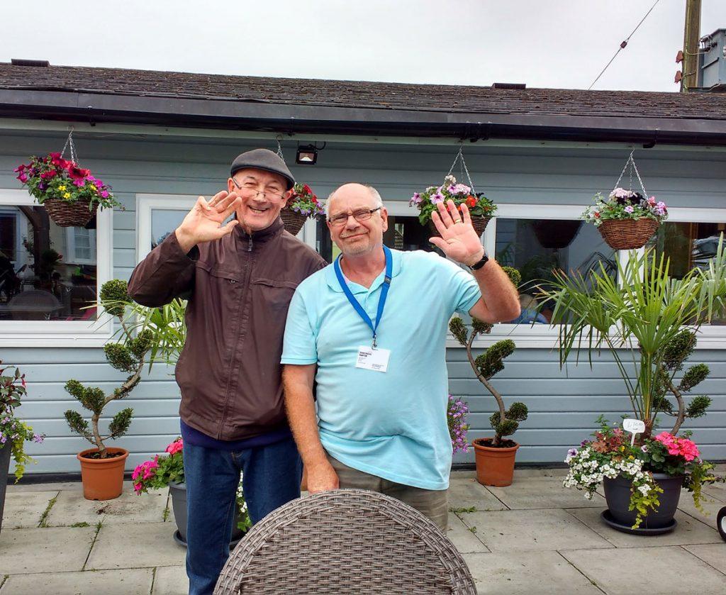 Alan and Bryan Volunteer Befriending